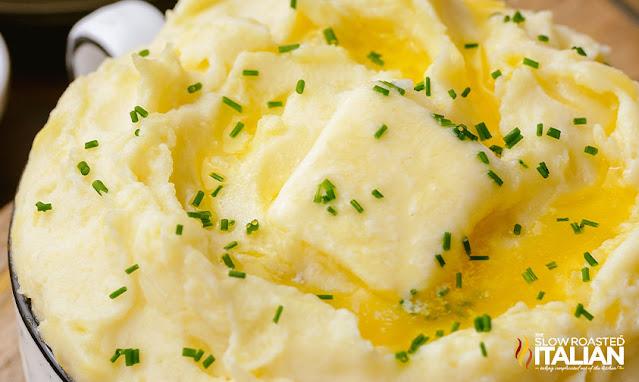 easy mashed potatoes recipe close wide photo