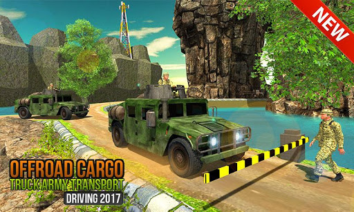US Offroad Army Truck Driving Army Vehicles Drive 1.0.8 screenshots 1