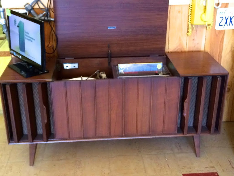 Mid Century Cabinet/Console Stereos with record player | Steve
