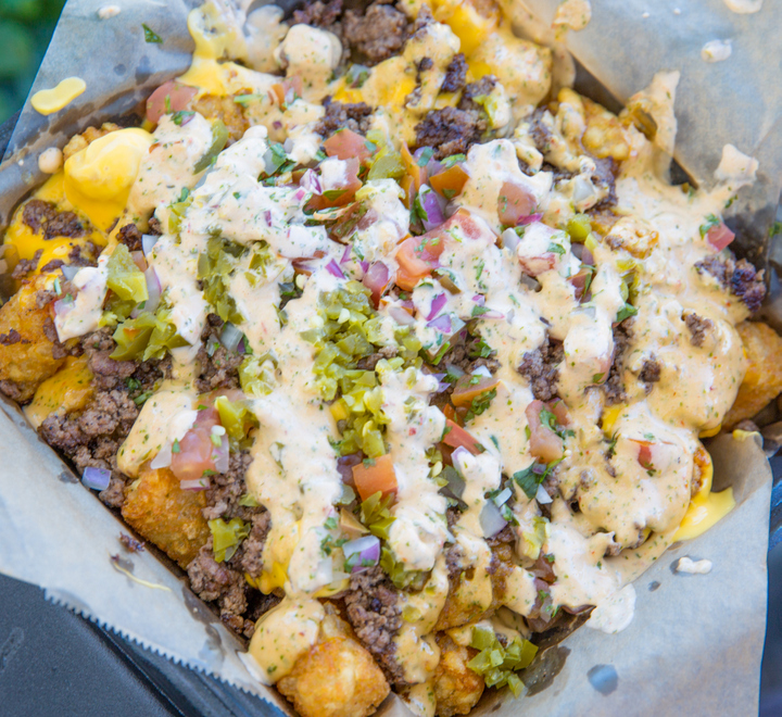 photo of Nachos Cheese Tater Tots