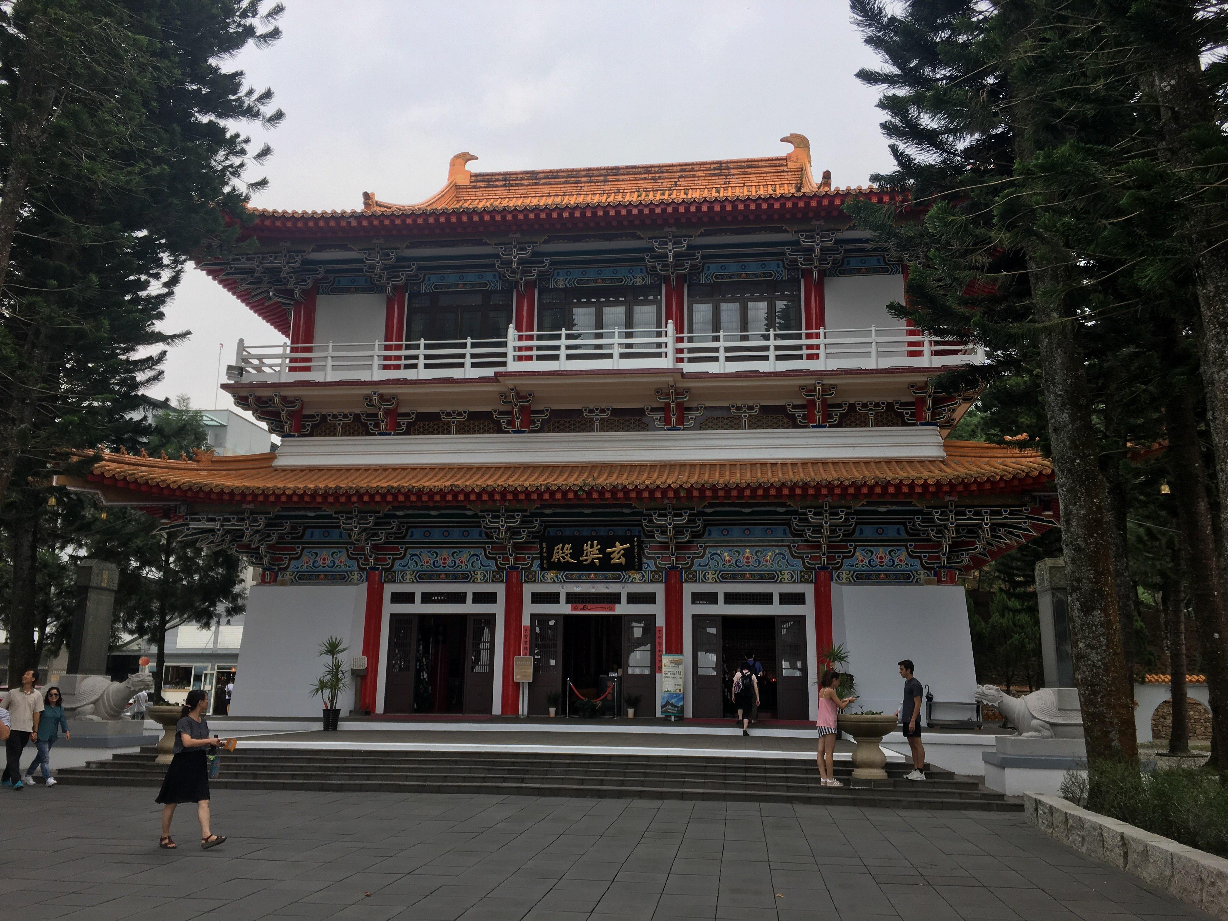 sun moon lake nantou xuan zang memorial hall