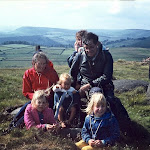 1970.06 Derbyshire,Hilary Crewe with Peter and Sue Morris  with their children.jpg