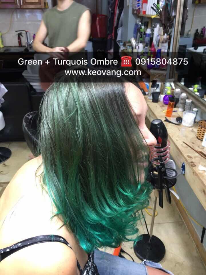 Người mạng mệnh Mộc có nên nhuộm tóc màu XANH LÁ CÂY để tài lộc thăng tiến không