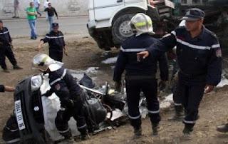 Quatre morts et cinq blessés dans une collision entre plusieurs véhicules à Boughezoul