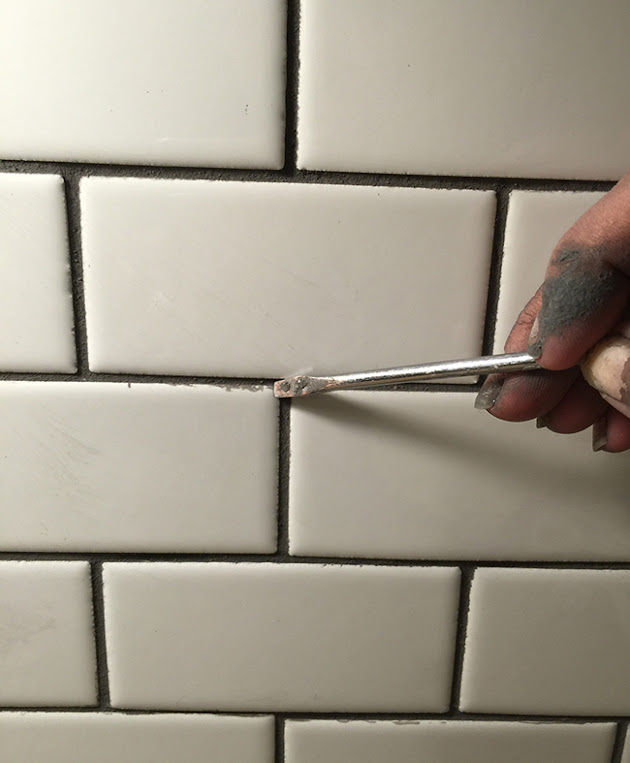 New Laundry Room Subway Tile Amp Grout Tips Amp Tricks