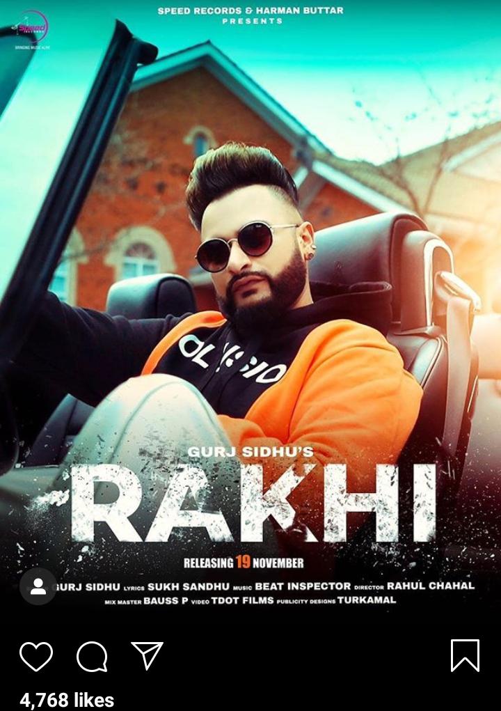 """Gurj Sidhu's New Song """"Rakhi"""""""
