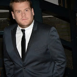 WWW.ENTSIMAGES.COM -   James Corden   leaving           Text Santa at The London Studios, Upper Ground, London December 20th 2013                                           Photo Mobis Photos/OIC 0203 174 1069