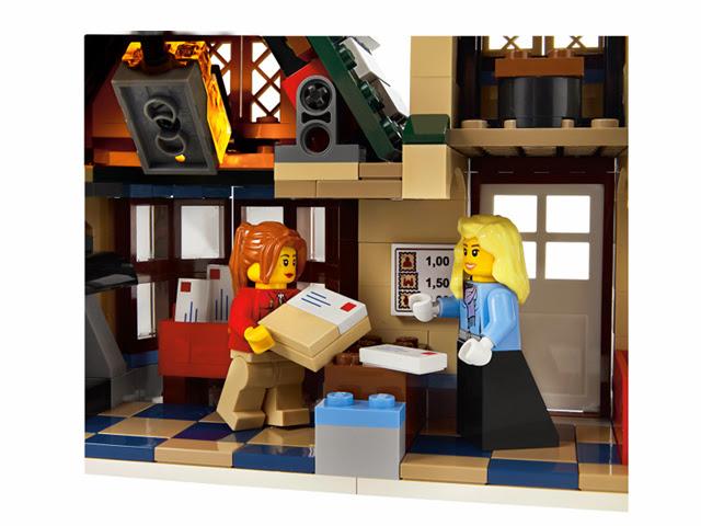 10222 レゴ ウィンターポストオフィス(ウィンタービレッジ)