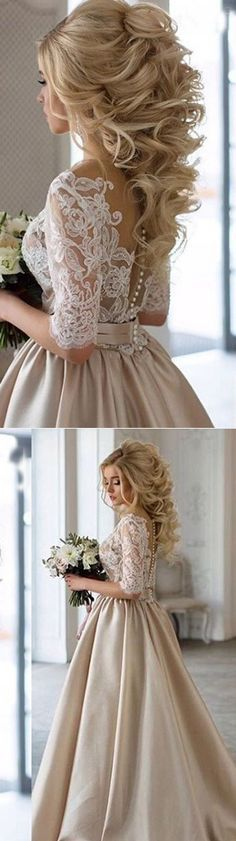 Hairstyles-Gorgeous Wedding Forٍ Chic Bride On Class World 4