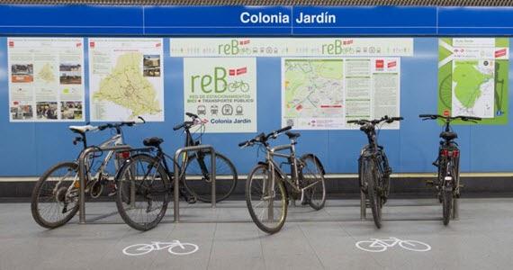 Calles recomendadas para llegar en bici a la estaci n de for Metro ligero colonia jardin