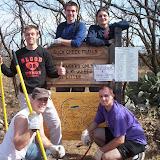 Service Saturday @ Buck Creek Trails - February 2006