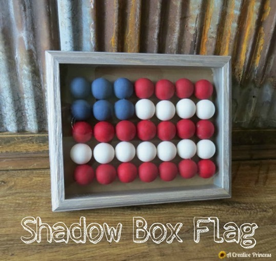 Shadow Box Flag