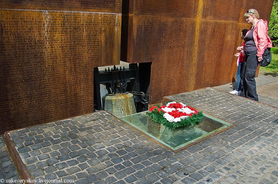 Колокол на польском кладбище