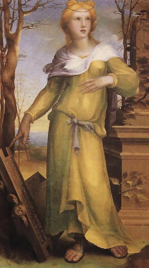 Domenico Beccafumi - Tanaquil, Wife of Lucomo