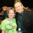Event chairwoman Carolyn Lease and Mike Lease