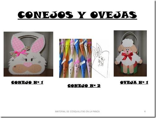conejo y ovejas moldes (3)
