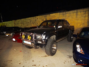 Toyota Hilux with Lift