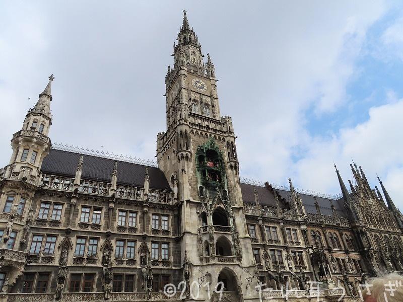 ミュンヘン新市庁舎の塔のチケットの買い方 地球の歩き方と違っていたのでレビュー・レポ ドイツ旅行㉕