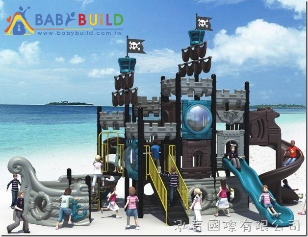 BabyBuild 海盜船系列遊具