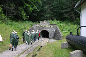 Heading into the Stolna Bartolomej mine