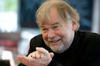 A Budapest Nagydíjjal elismert Jostein Gaarder norvég író, a Budapesti Nemzetközi Könyvfesztivál díszvendége 2016-ban (MTI Fotó: Máthé Zoltán)
