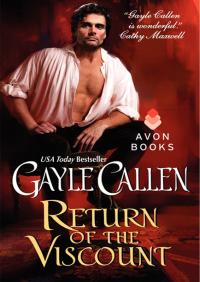 Return of the Viscount By Gayle Callen
