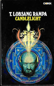Cover of Tuesday Lobsang Rampa's Book Candlelight