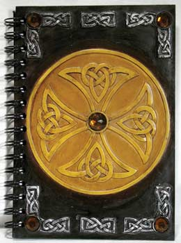 Celtic Circle Blank Book Of Shadows, Book Of Shadows