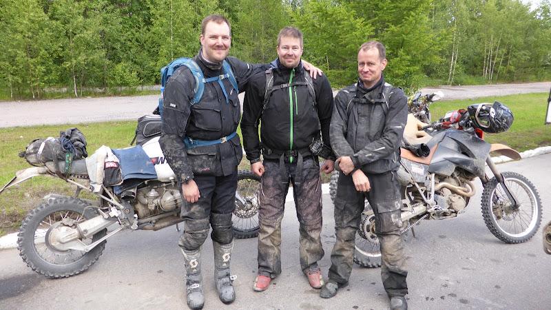 Unser drei finnischen Führer