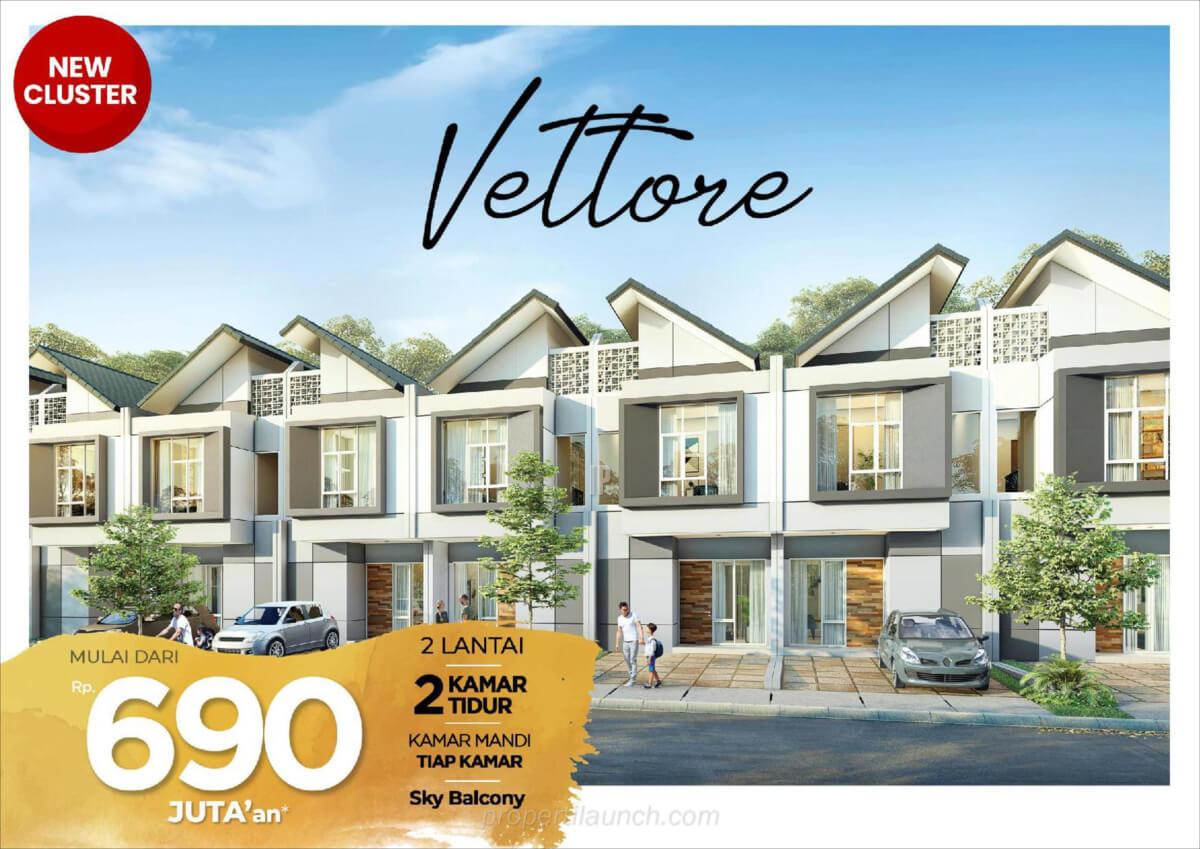 Rumah Cluster Vettore PHR Bekasi