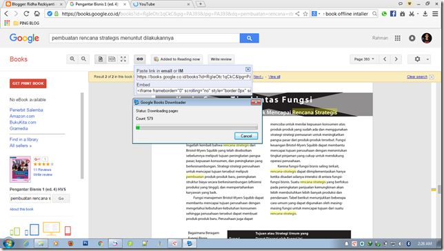 cara download file buku di google book