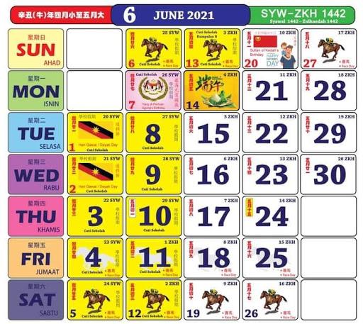 Kalendar 6