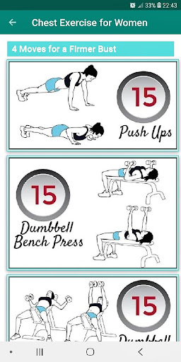 Ladies at for workout chest home 11 Best