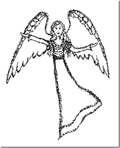 angeles colorear (3)