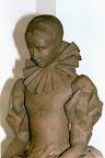 """Schweinfurt,  """"Olympia Fulvia Morata"""", Ton, für Bronze,  1999"""