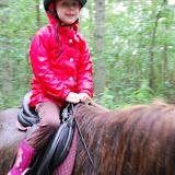 Paardje rijden hoort er natuurlijk ook bij!
