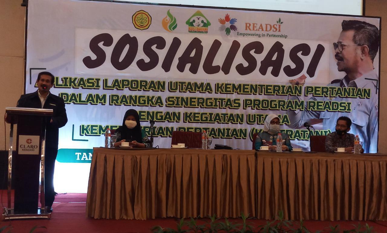 Percepatan Satu Data Pertanian, BBPP Batangkaluku Gelar Sosialisasi Aplikasi Laporan Utama Kementan