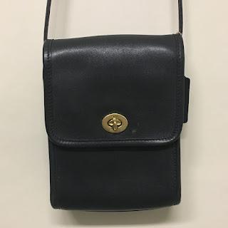 Coach Black Camera Bag (Thin Strap)