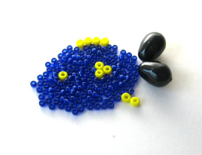 Blue Tang Bead Color Idea: Splish Splash