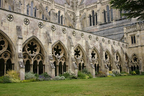 Cloisters, Salisbury Cathedral