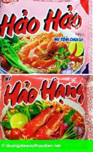Hình 1: Mì Hảo Hảo kiện mì Hảo Hạng