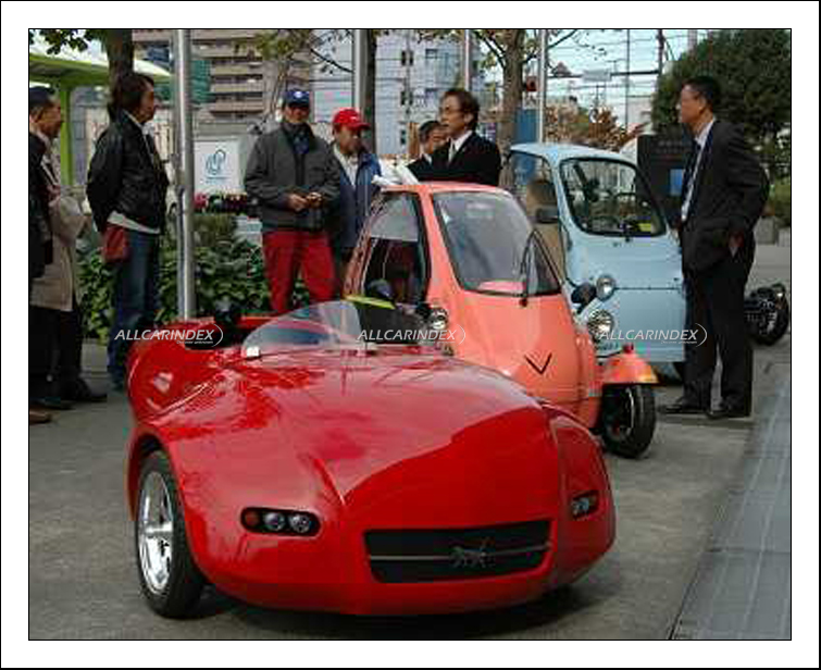 Electric Three Wheeler Japan >> HSVP - T3