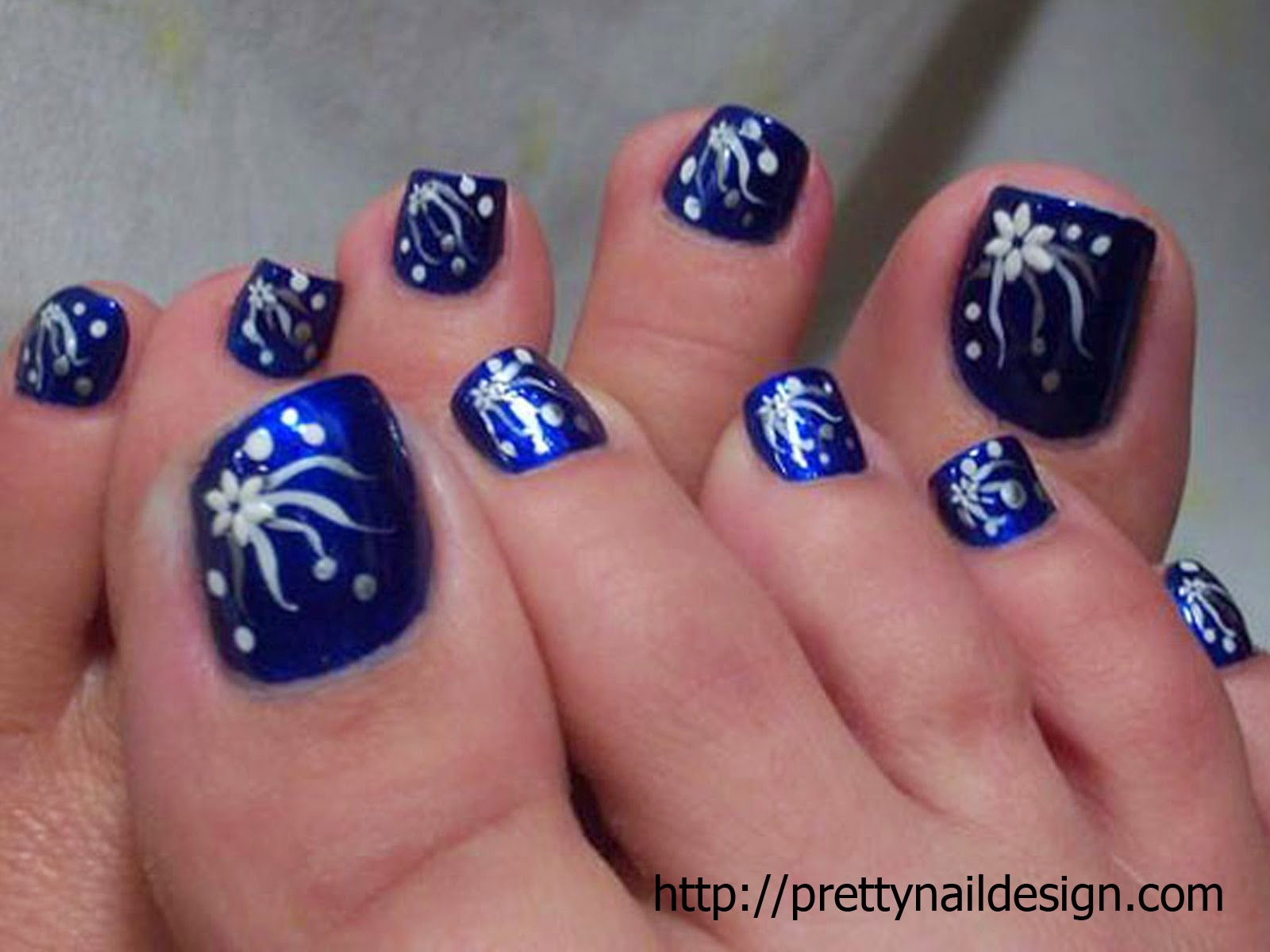 Nail Art Designs For Toes Step