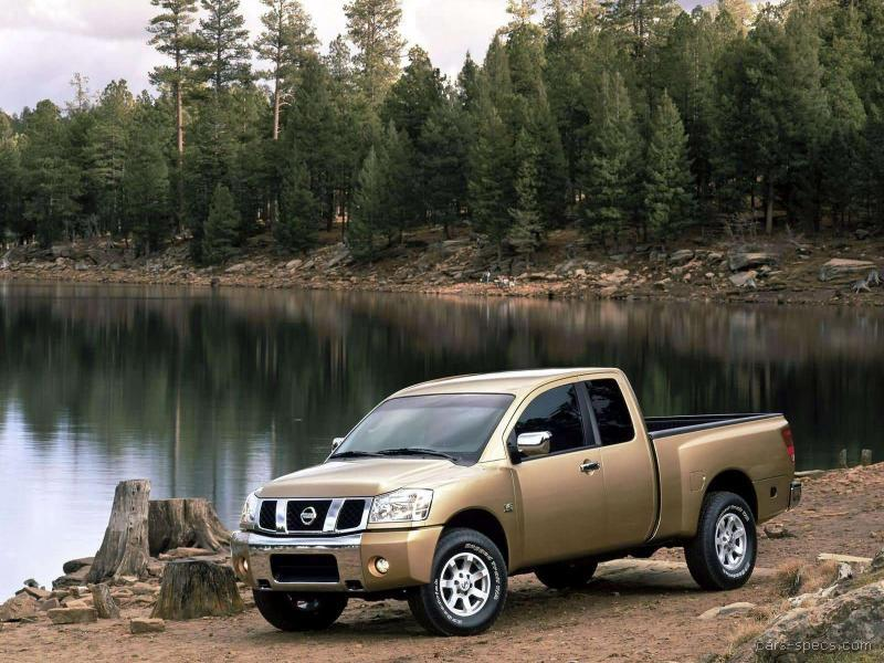 2004 nissan titan crew cab specifications pictures prices. Black Bedroom Furniture Sets. Home Design Ideas