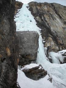 L1, belle masse de glace au dessus de nos têtes