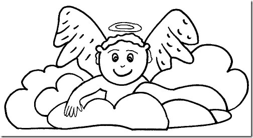 angeles colorear (7)