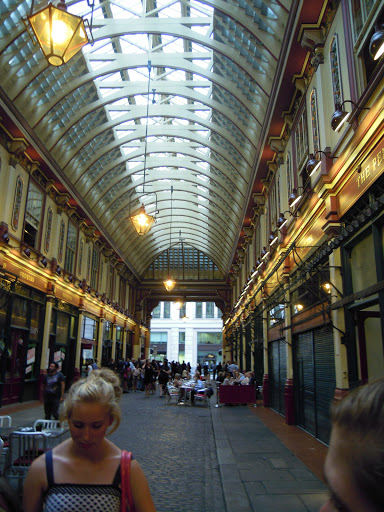 Leadenhall Market - site of Diagon Alley and the Leaky Cauldron! From best walking tours in London, including Harry Potter