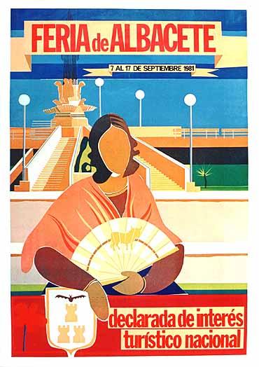 Cartel Feria Albacete 1981
