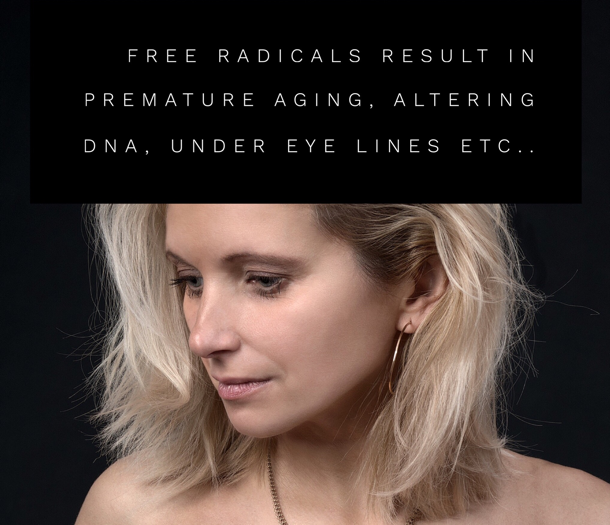 what are free radicals and how do they effect our skin
