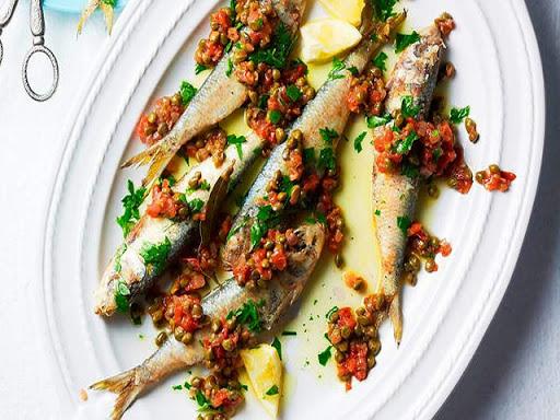 Sautéed Fresh Sardines